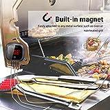 Inkbird IBT-4XS Bluetooth Barbecue Grillthermometer mit das in 1000mAh Li-Batterie, Magnet Montagedesign und Rotations Lesebildschirm Thermometer für BBQ, Küche, Grill, Ofen, Fleisch - 3