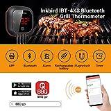 Inkbird IBT-4XS Bluetooth Barbecue Grillthermometer mit das in 1000mAh Li-Batterie, Magnet Montagedesign und Rotations Lesebildschirm Thermometer für BBQ, Küche, Grill, Ofen, Fleisch - 4