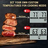 ThermoPro TP04 Digital Bratenthermometer Ofenthermometer mit integriertem Countdown Timer - 4