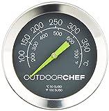 Outdoorchef Grillzubehör, Thermometer, schwarz, 5,3×5,3×7 cm, 18.211.66 - 2