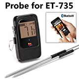 Maverick 3-Foot Waterproof Hybrid Probe for the ET-735 Bluetooth Thermometer – Replacement / Spare Food and Smoker Probe by Maverick - 5