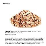 Axtschlag Räucherchips, Wood Smoking Chips Hickory, Holz, 1 kg - 2