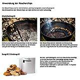 Axtschlag Räucherchips, Wood Smoking Chips Hickory, Holz, 1 kg - 3
