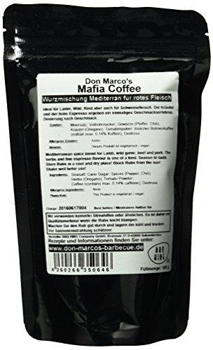 DON MARCO'S Mafia Coffee Rub, 1er Pack (1 x 180 g) - 3